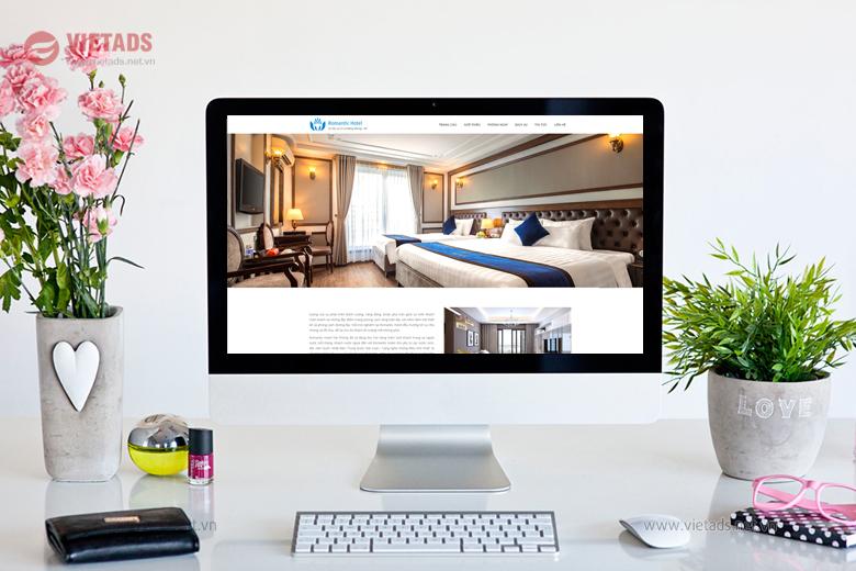 thiết kế web khách sạn cao cấp