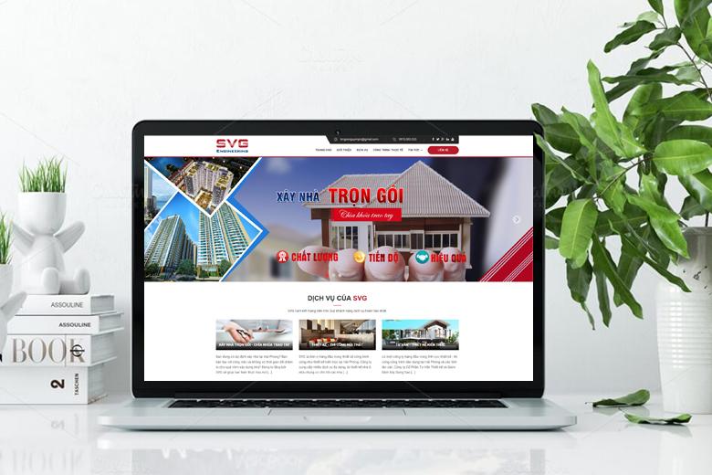 thiết kế web kiến trúc xây dựng chuẩn SEO