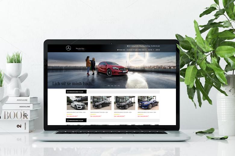 các mẫu website bán hàng đẹp, chuẩn SEO