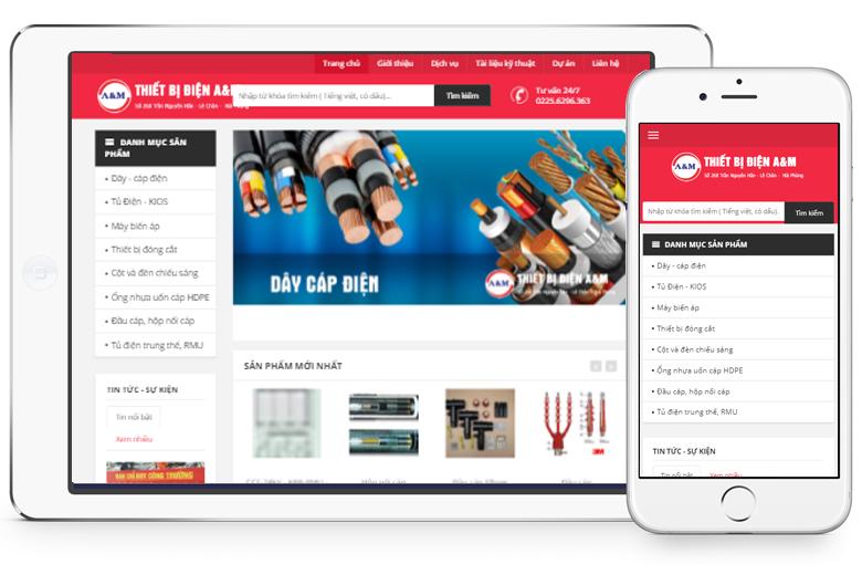 Mẫu thiết kế web