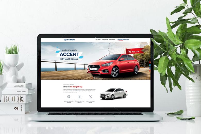 Thiết kế web bán ô tô chuyên nghiệp với chức năng tính lãi suất trả góp độc đáo tại VIETADS