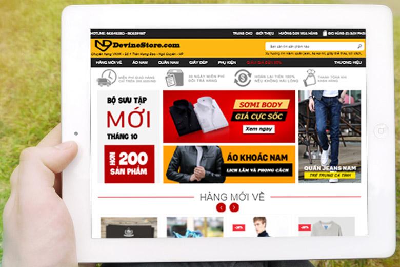thiết kế website thời trang tại hải phòng