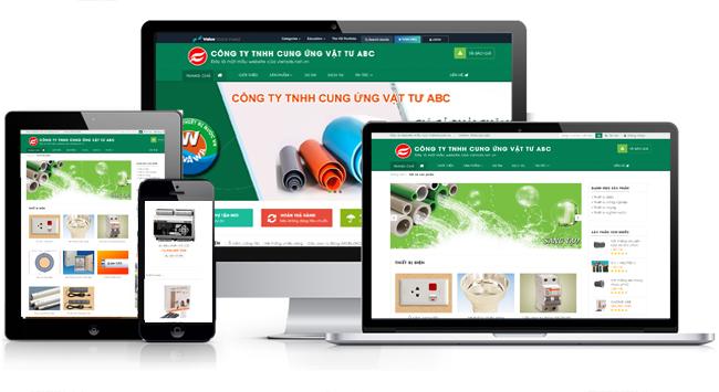 Thiết kế website điện nước