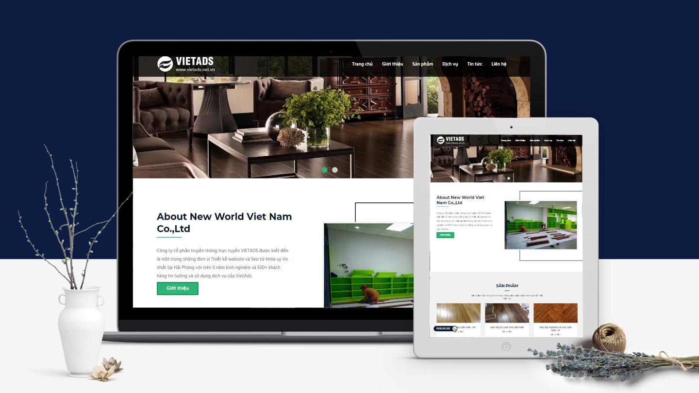 website công ty sàn gỗ