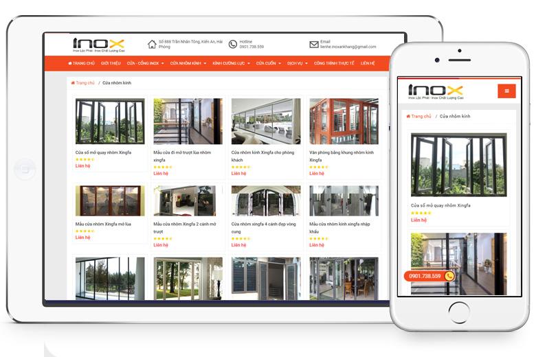 VIETADS cung cấp giải pháp thiết kế website trọn gói giá rẻ tại Hải Phòng