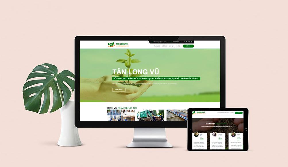 thiết kế web công ty môi trường tại Hải Phòng
