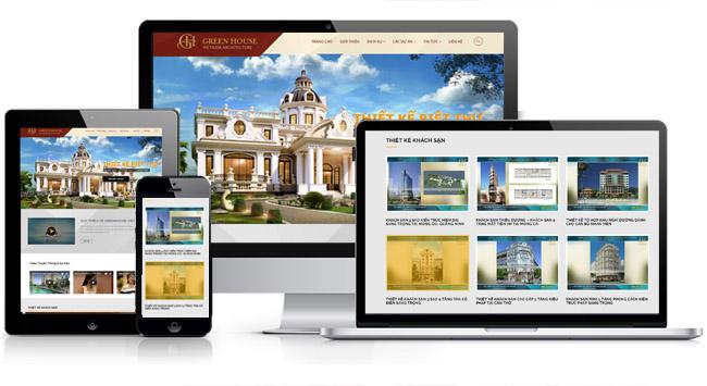 thiết kế website giới thiệu công ty tại Bắc Giang